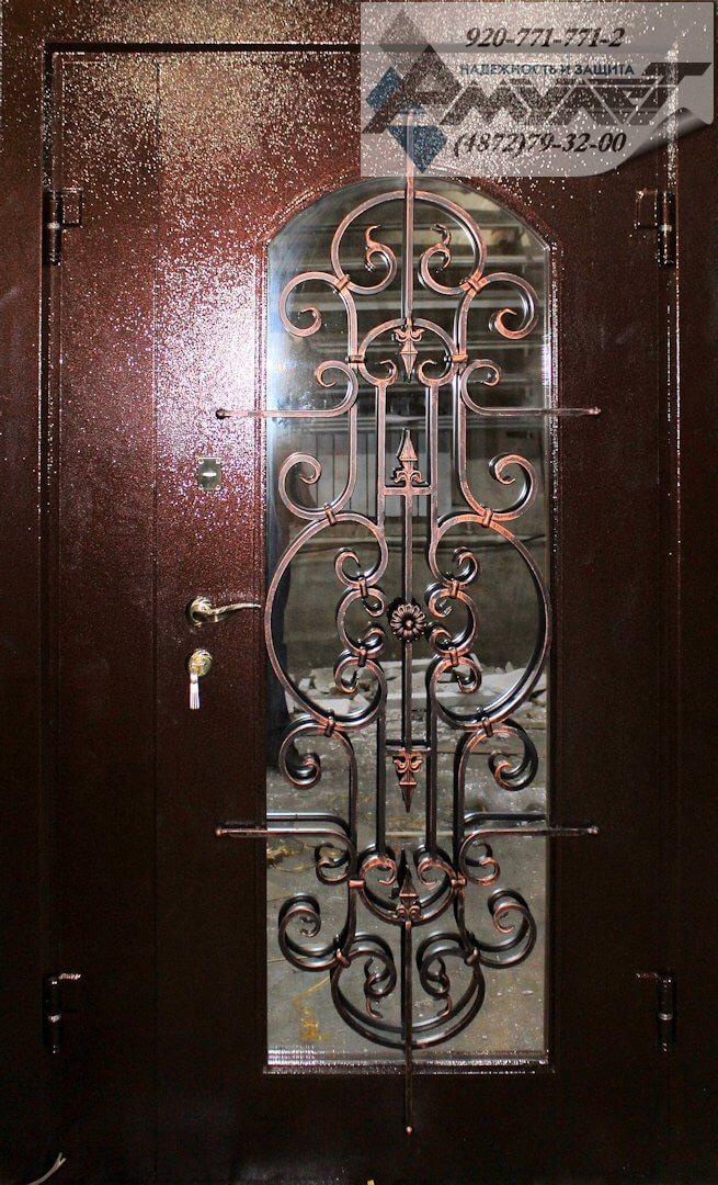 образцы ковки на входные двери
