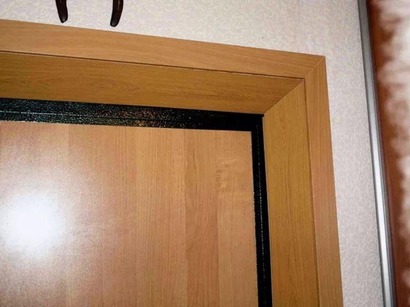 как межкомнатные двери отделать панелями с фото раменках